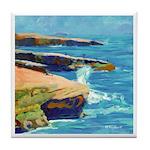Ocean Beach Sunset Cliffs Tile Coaster