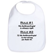 Anthropologist Bib