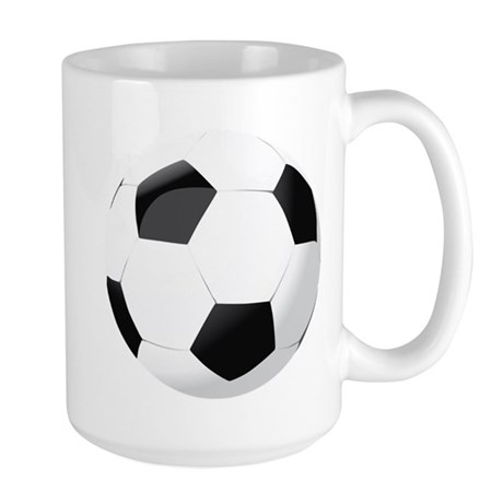 Soccer Ball Large Mug