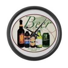 The Beer Choice Large Wall Clock