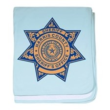 Harris County Sheriff baby blanket