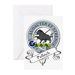 Pollock Clan Badge Greeting Cards (Pk of 10)