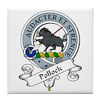 Pollock Clan Badge Tile Coaster