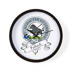 Pollock Clan Badge Wall Clock