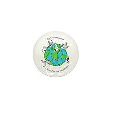 Cute Homeschool Mini Button (100 pack)