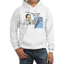 "Hooded ""Doc Says"" Sweatshirt"