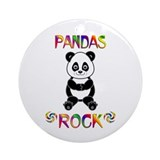 Panda Ornament (Round)