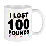 I Lost 100 Pounds! Small Mug