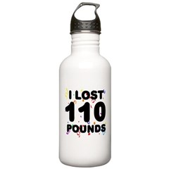 I Lost 110 Pounds! Water Bottle