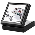 Captive Cubicle Keepsake Box