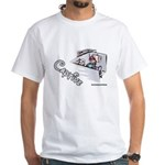 Captive Cubicle White T-Shirt