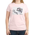 Captive Cubicle Women's Pink T-Shirt