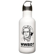 What Would Beethoven Do Water Bottle