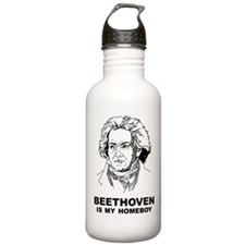 Beethoven Is My Homeboy Water Bottle