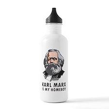 Karl Marx Is My Homeboy Sports Water Bottle