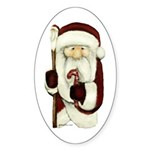 Christmas Sticker (Oval 10 pk)
