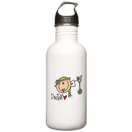 Female Doctor Stainless Water Bottle 1.0L