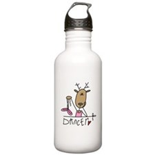 Dancer Reindeer Water Bottle