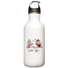 Snowball Fight Water Bottle