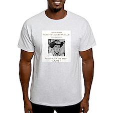 Robert Fuller Fan Club Ash Grey T-Shirt