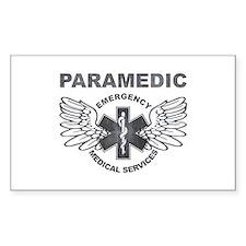 Paramedic EMS SOL wings Decal