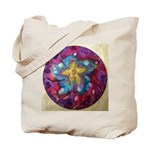2 Silk Painted Mandalas - Tote Bag