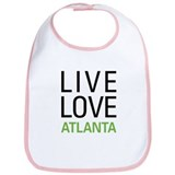 Live Love Atlanta Bib