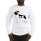 Landseer Santa Long Sleeve T-Shirt