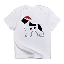 Landseer Santa Infant T-Shirt