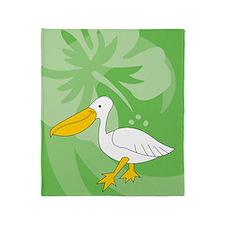 Pelican Throw Blanket