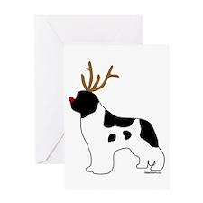 Landseer Reindeer Greeting Card