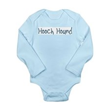 Hooch Hound Long Sleeve Infant Bodysuit
