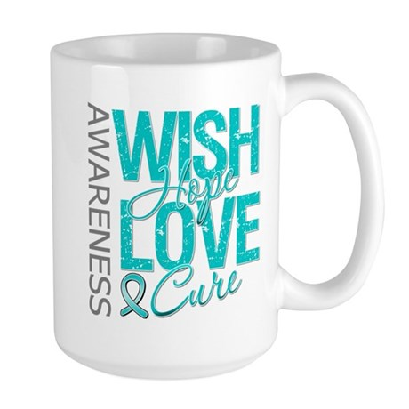 PCOS Wish Hope Cure Large Mug