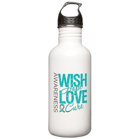 PCOS Wish Hope Cure Stainless Water Bottle 1.0L