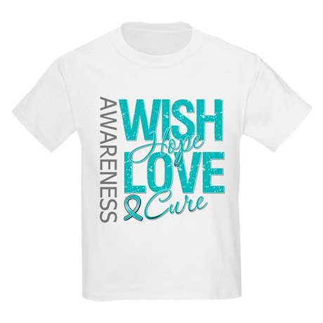 PCOS Wish Hope Cure Kids Light T-Shirt
