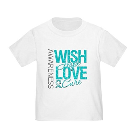 PCOS Wish Hope Cure Toddler T-Shirt