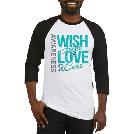 PCOS Wish Hope Cure Baseball Jersey