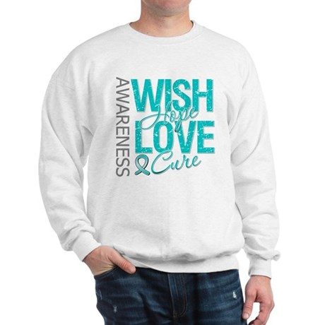 PCOS Wish Hope Cure Sweatshirt