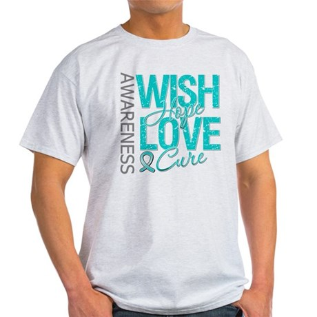 PCOS Wish Hope Cure Light T-Shirt