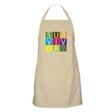 PCOS Survivor Tiles Apron