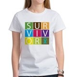 PCOS Survivor Tiles Tee