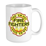 Firefighters, Hot! Coffee Mug