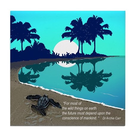 TURTLE BAY Tile Coaster