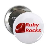 "Ruby Rocks 2.25"" Button"