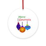 Merry Saturnalia Yule Tree Ornament