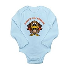 Daddy's Lil' Gobbler Long Sleeve Infant Bodysuit