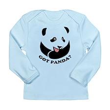 Got Panda? Long Sleeve Infant T-Shirt