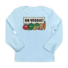 Go Veggie! Long Sleeve Infant T-Shirt