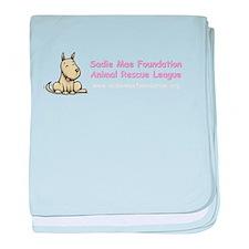 Funny Sadie baby blanket