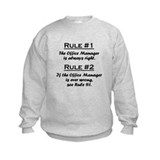 Office Manager Sweatshirt